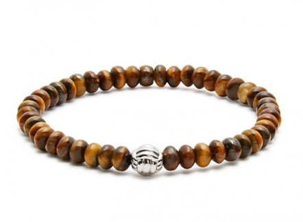 Stone Monkey Bracelet - Beaded Mens Bracelet