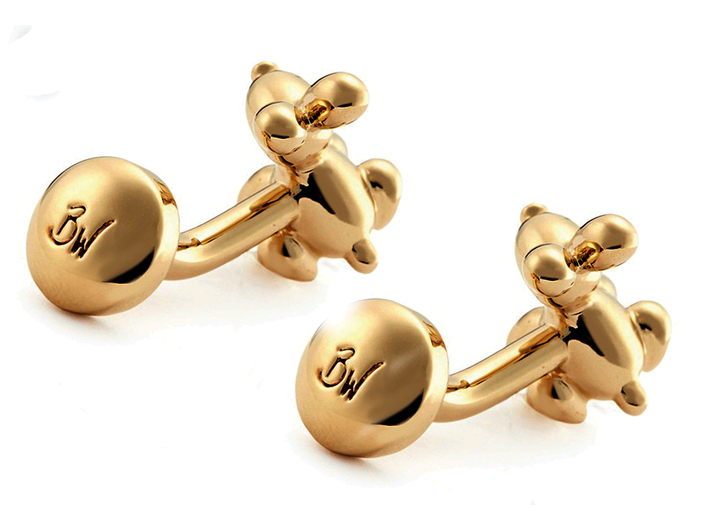 Balloon Rabbit Cufflinks