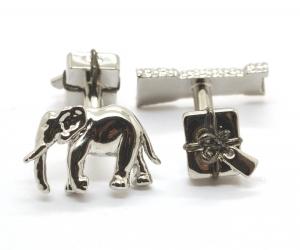 Elephant and Castle Cufflinks