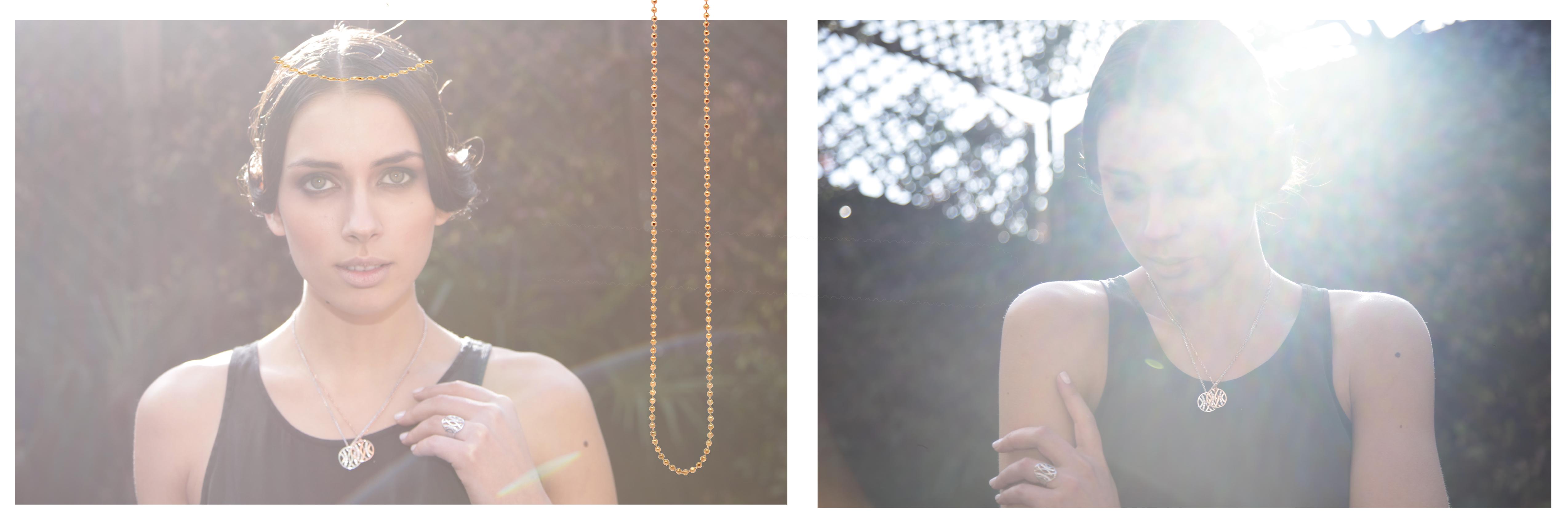 Glastonbury with chain