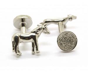 Horse and Hound Cufflinks