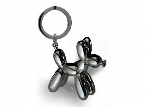 Balloon Dog Key Ring