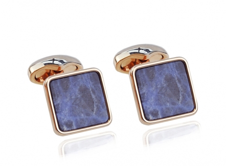 Elegant cufflinks in rose gold