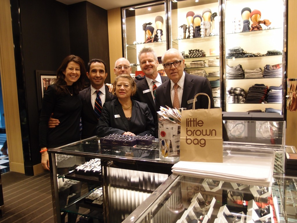 Babette and the wonderful team at Bloomingdales