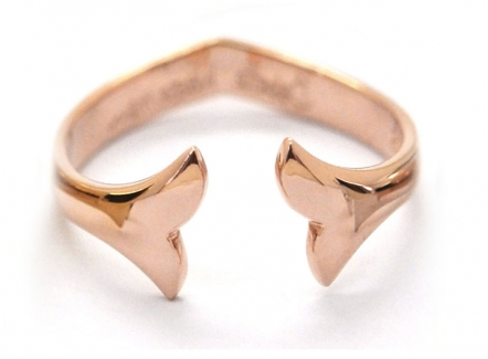 Flame Ring Rose Gold